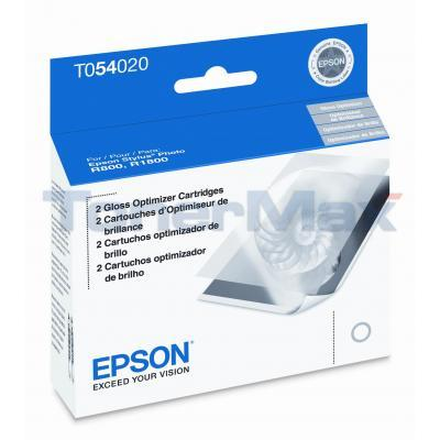 EPSON STYLUS PHOTO R800 GLOSS OPTIMIZER BLACK